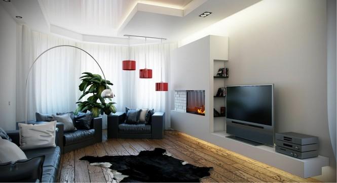 Black-white-red-living-room-665x362