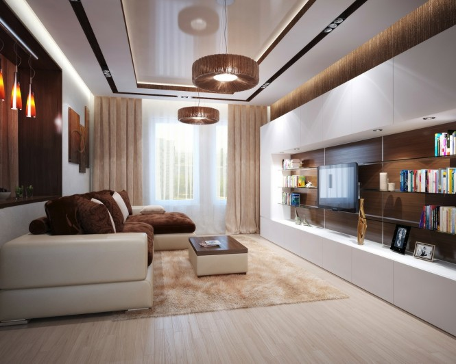 Brown-cream-living-room-L-shaped-sofa-665x532