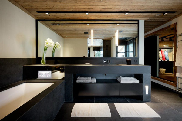 chalet de luxe meg ve red banana studio influences architecte int rieur. Black Bedroom Furniture Sets. Home Design Ideas