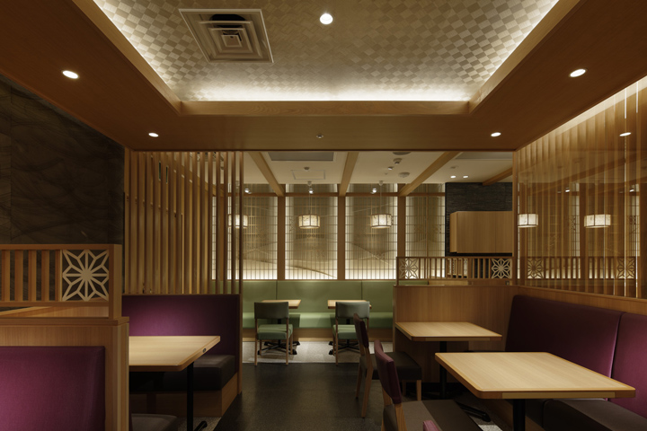 architecture commerciale restaurant au japon saboten red banana studio influences. Black Bedroom Furniture Sets. Home Design Ideas