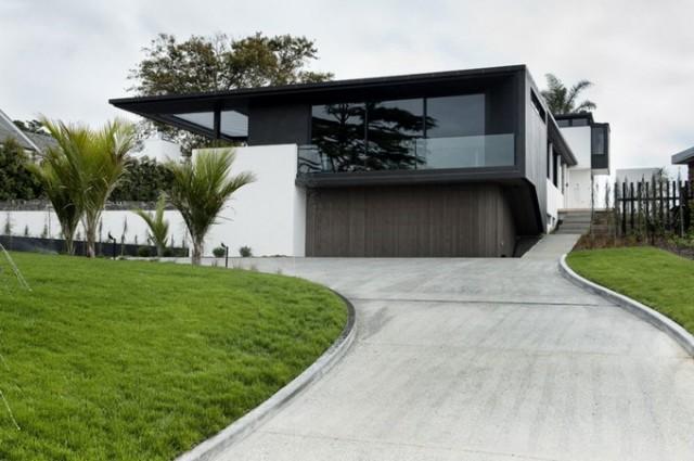 Villa contemporaine à Auckland - Nouvelle-Zélande - Red Banana ...
