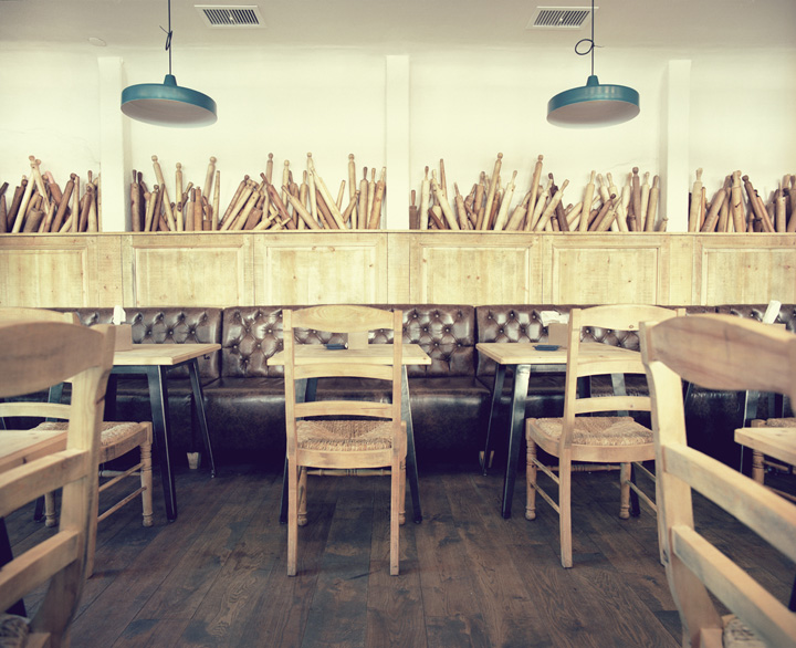 Int 233 Rieur De Restaurant Tendance Vintage Red Banana Studio