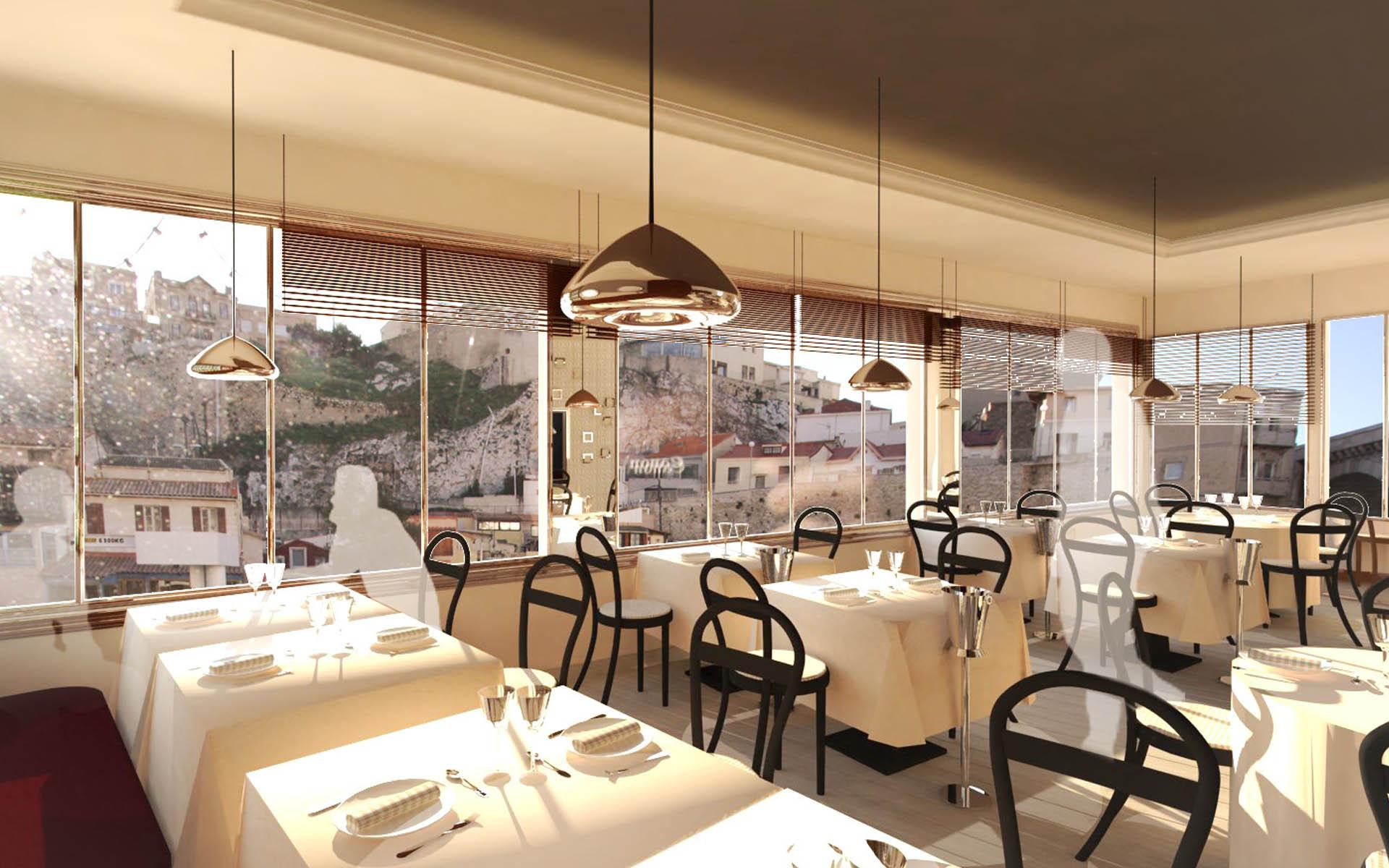 intérieur restaurant aix en provence
