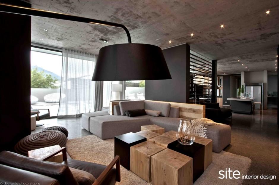 Int rieur du jour donner du contraste avec le noir et le for Interieur et design avis