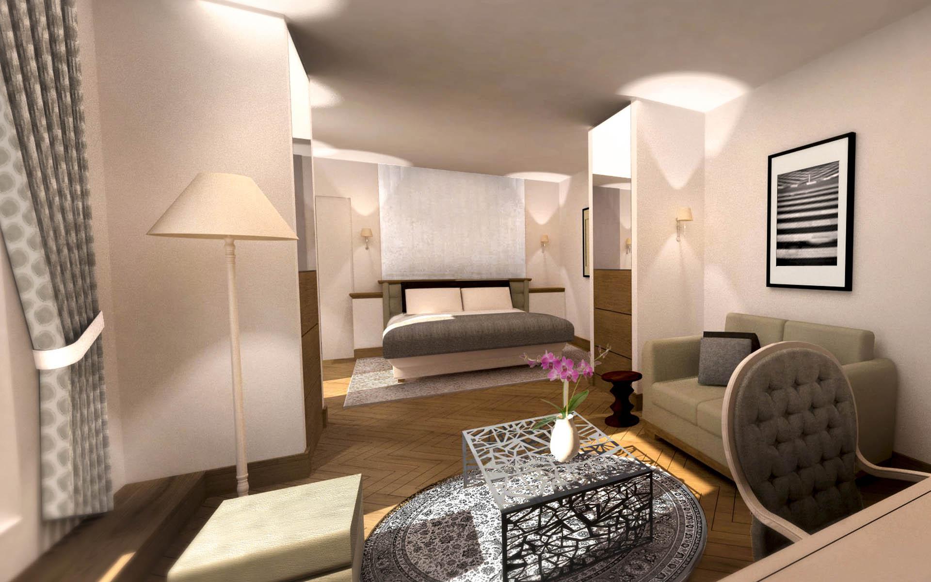 Architecte intérieur Hotel - Aix en provence 10
