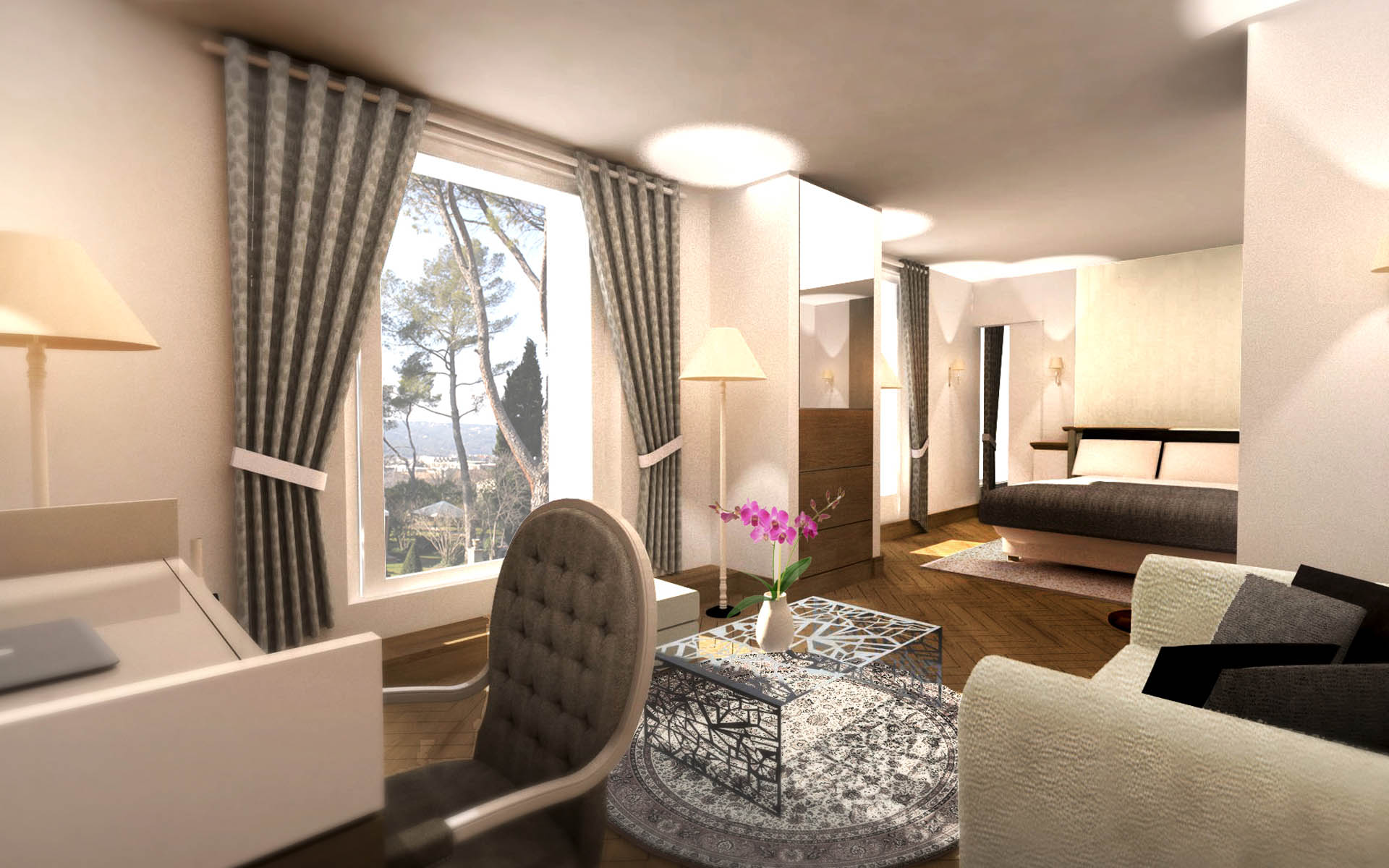 Architecte intérieur Hotel - Aix en provence 11