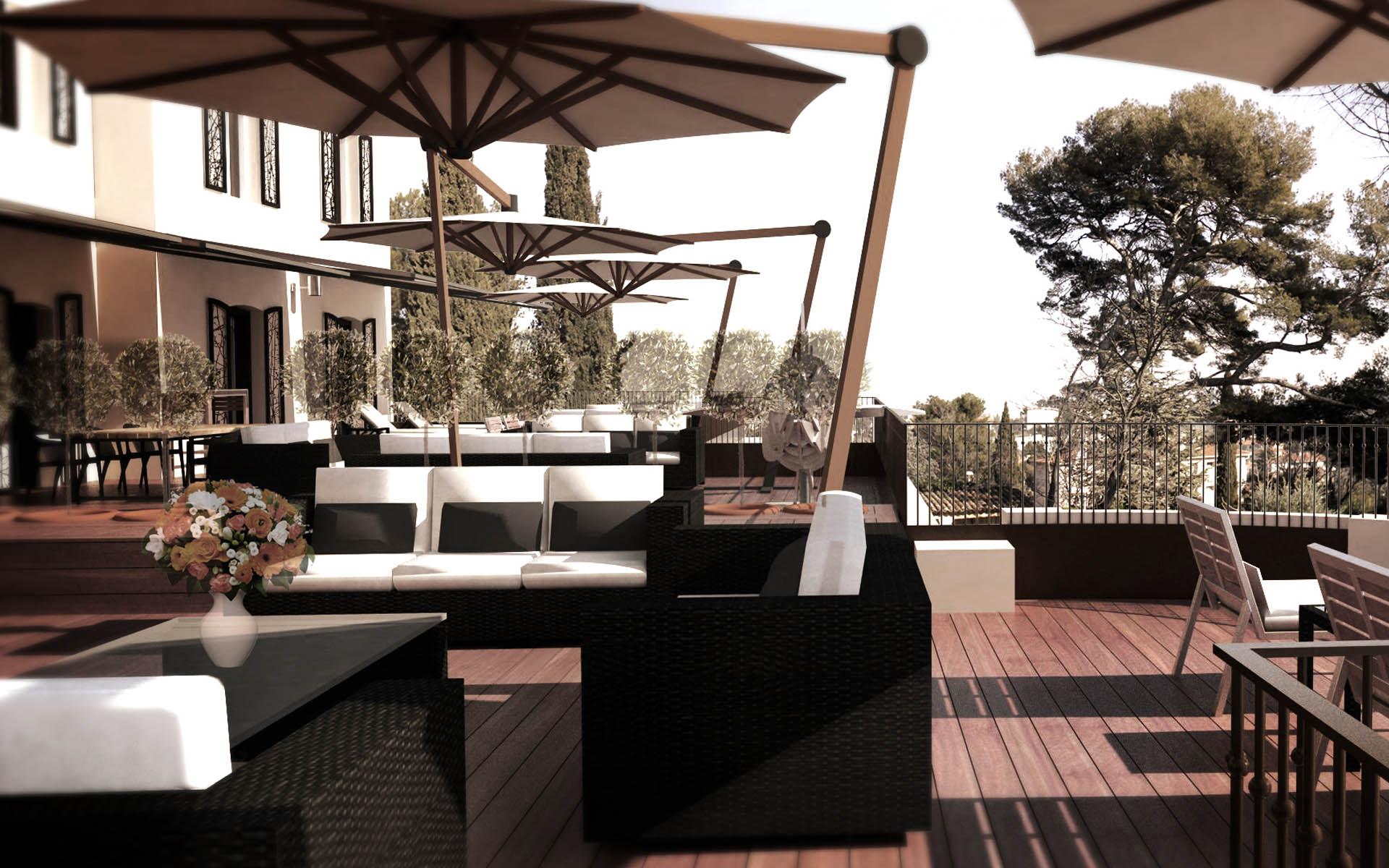 Architecte intérieur Hotel - Aix en provence 29
