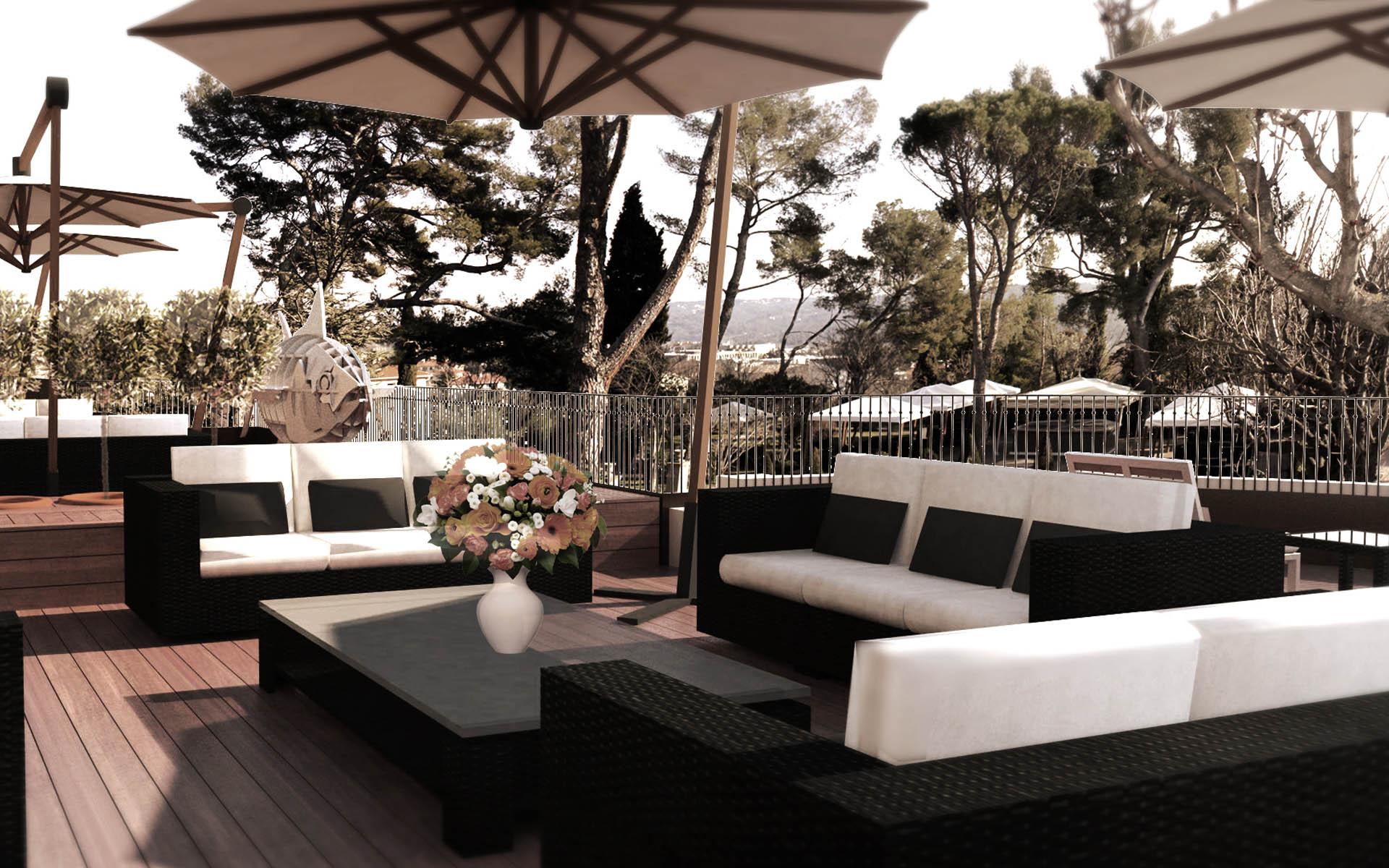 Architecte intérieur Hotel - Aix en provence 30