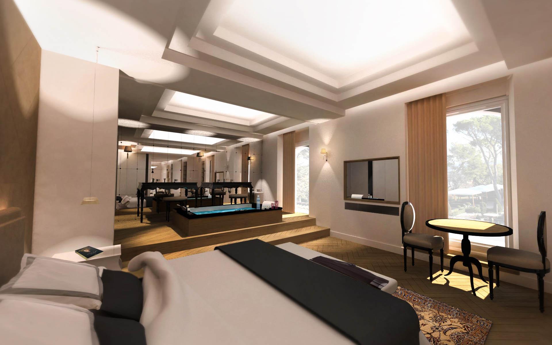 h tel de luxe aix en provence architecte d 39 int rieur. Black Bedroom Furniture Sets. Home Design Ideas