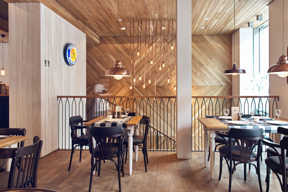 Int rieur un restaurant en pologne influences for Architecte interieur restaurant