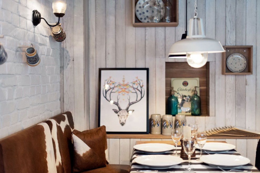 Int rieur un restaurant en pologne influences for Decoration interieur champetre