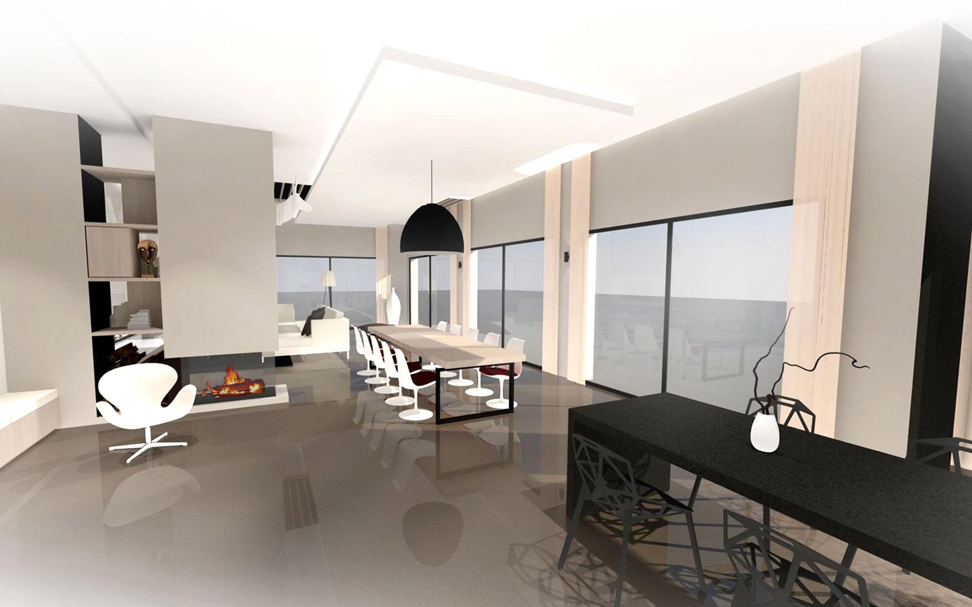 Villa contemporaine architecte dintérieur red banana studio