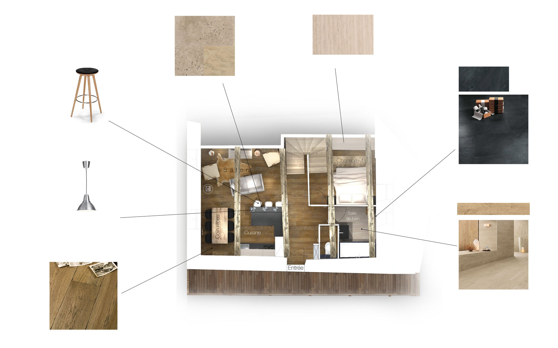 chalet les orres red banana studio architecte d 39 int rieur aix. Black Bedroom Furniture Sets. Home Design Ideas