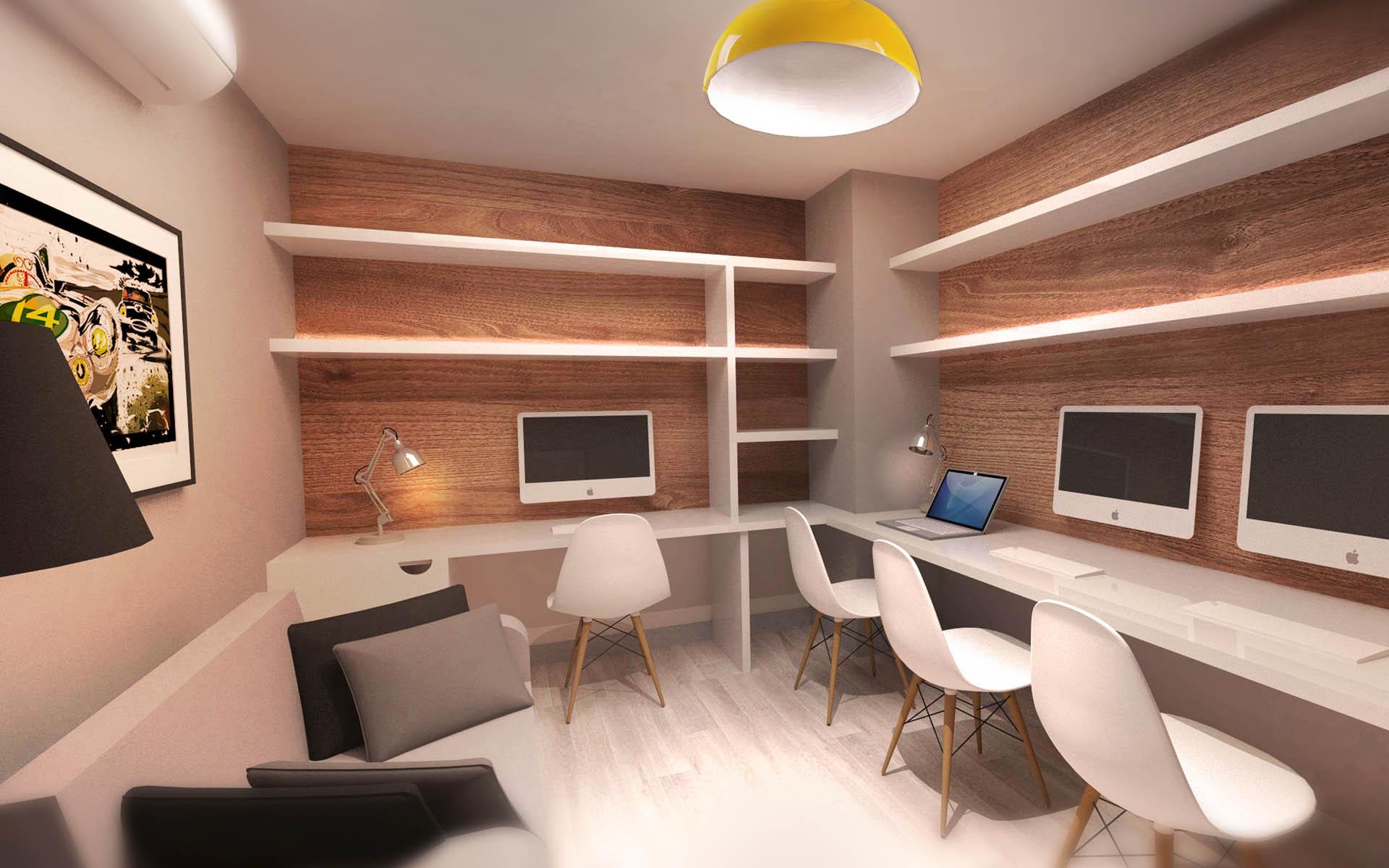 Projet d 39 int rieur d 39 un appartement bureau aix red - Interieur eclectique appartement sobrado studio ...