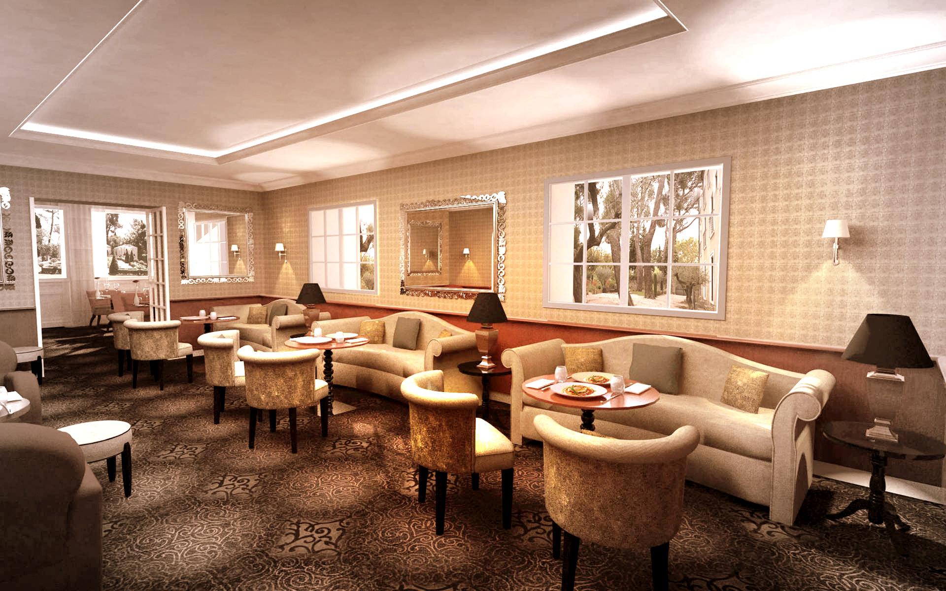 Intérieur Bar d'hotel