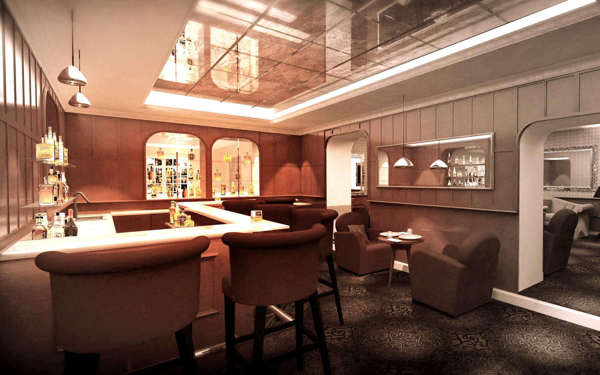 Intérieur Bar d'hotel 2