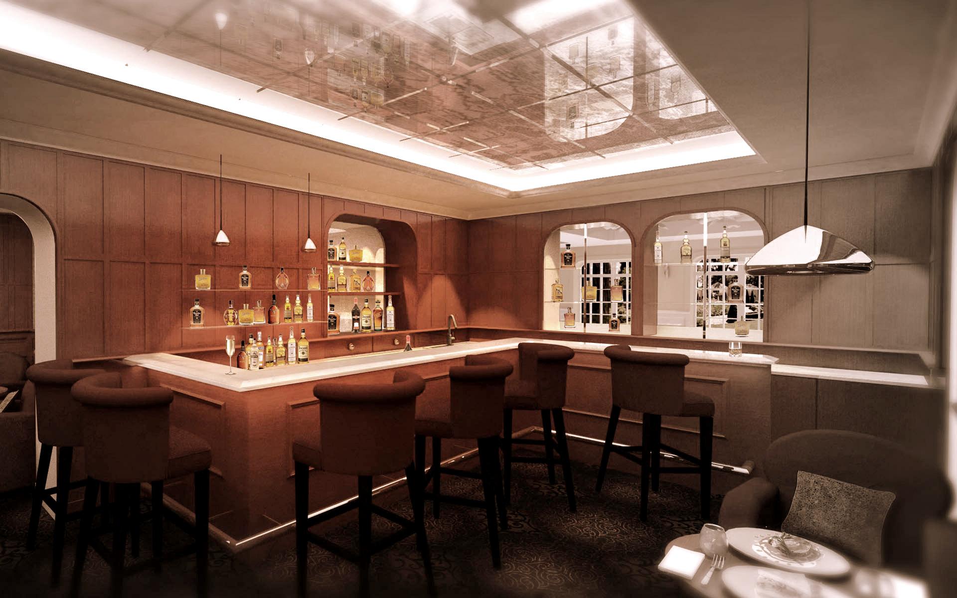 Intérieur Bar d'hotel 3