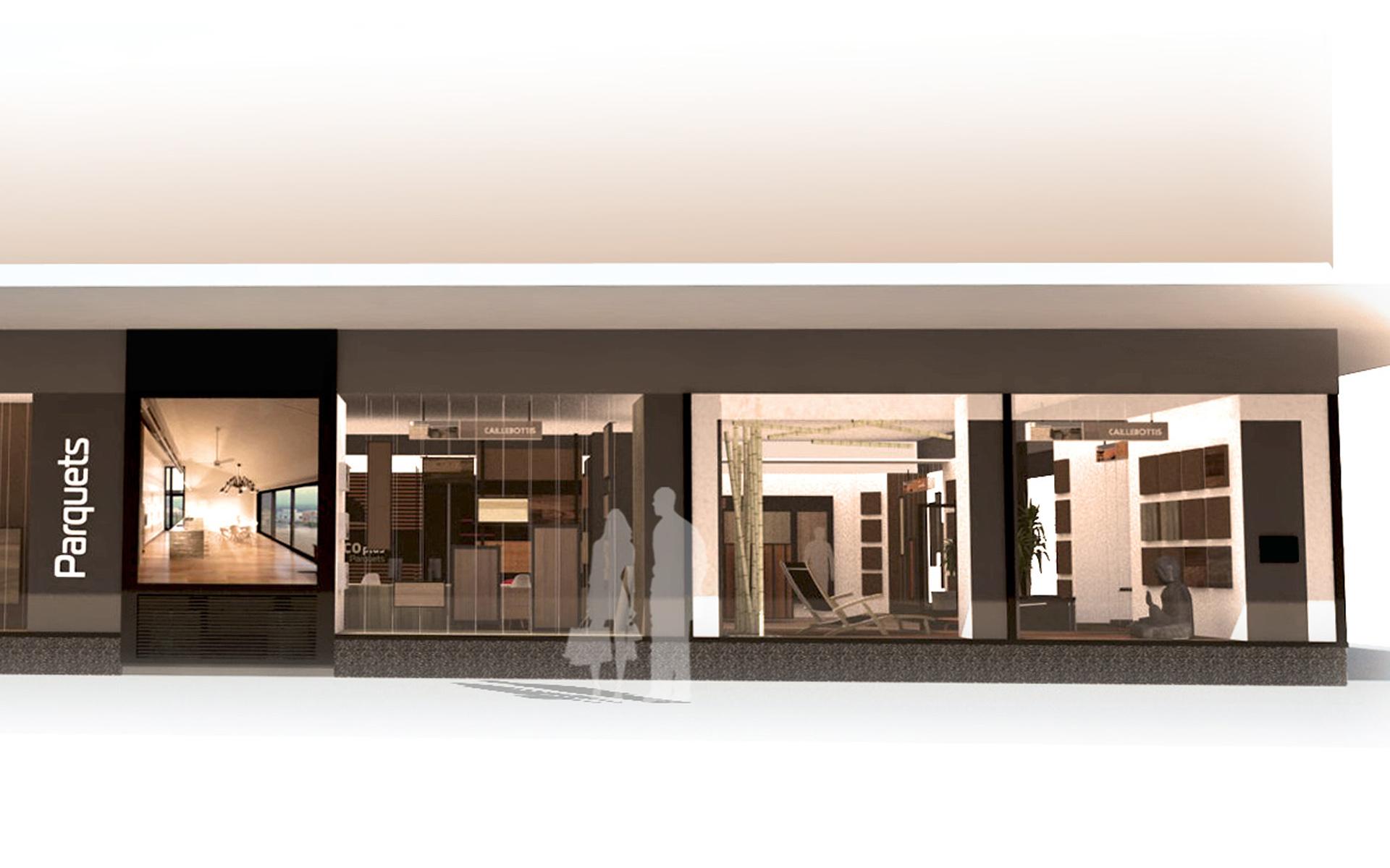 Intérieur boutique de parquet 08