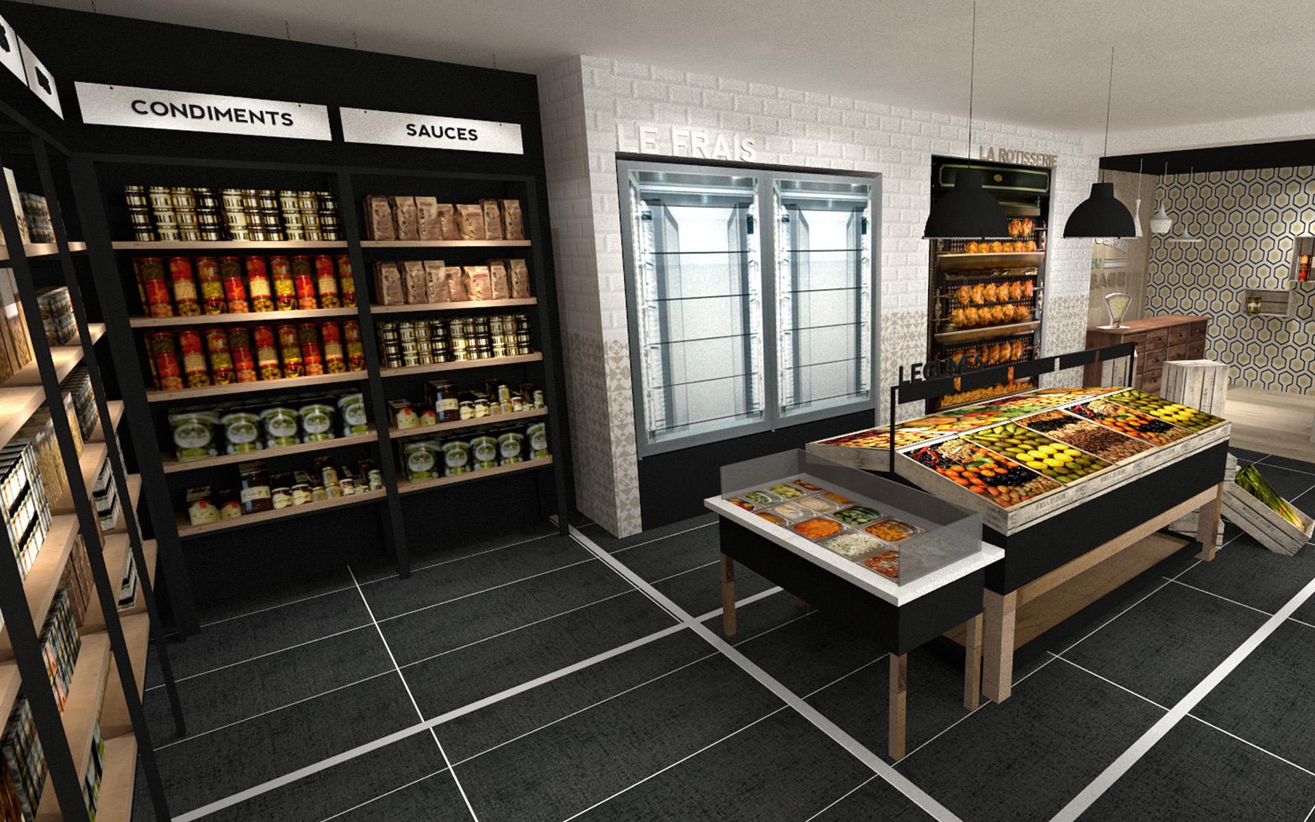 Epicerie Aix En Provence Red Banana Studio Concepteur D Int 233 Rieur