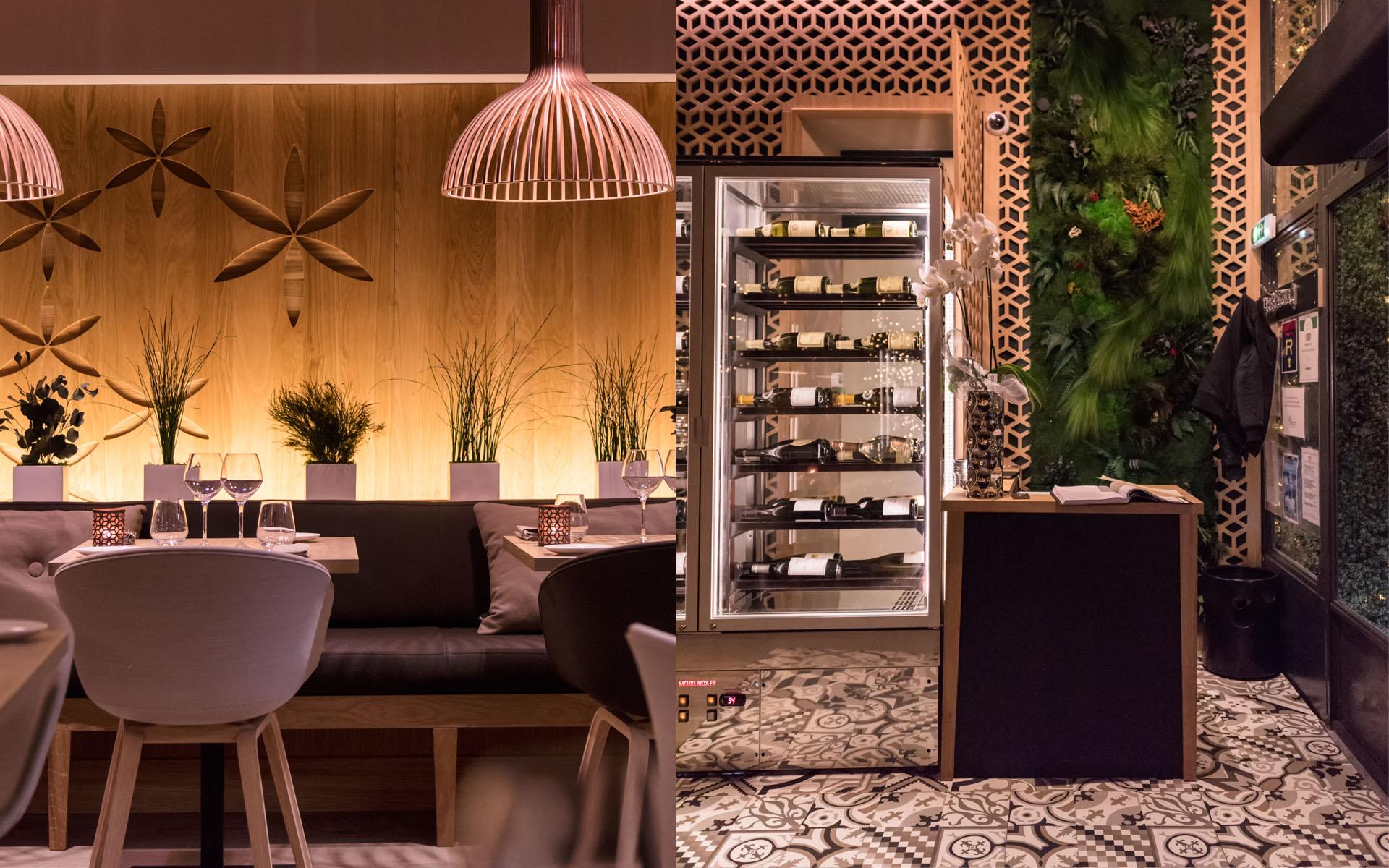 intérieur du restaurant coté cour à aix en provence 7