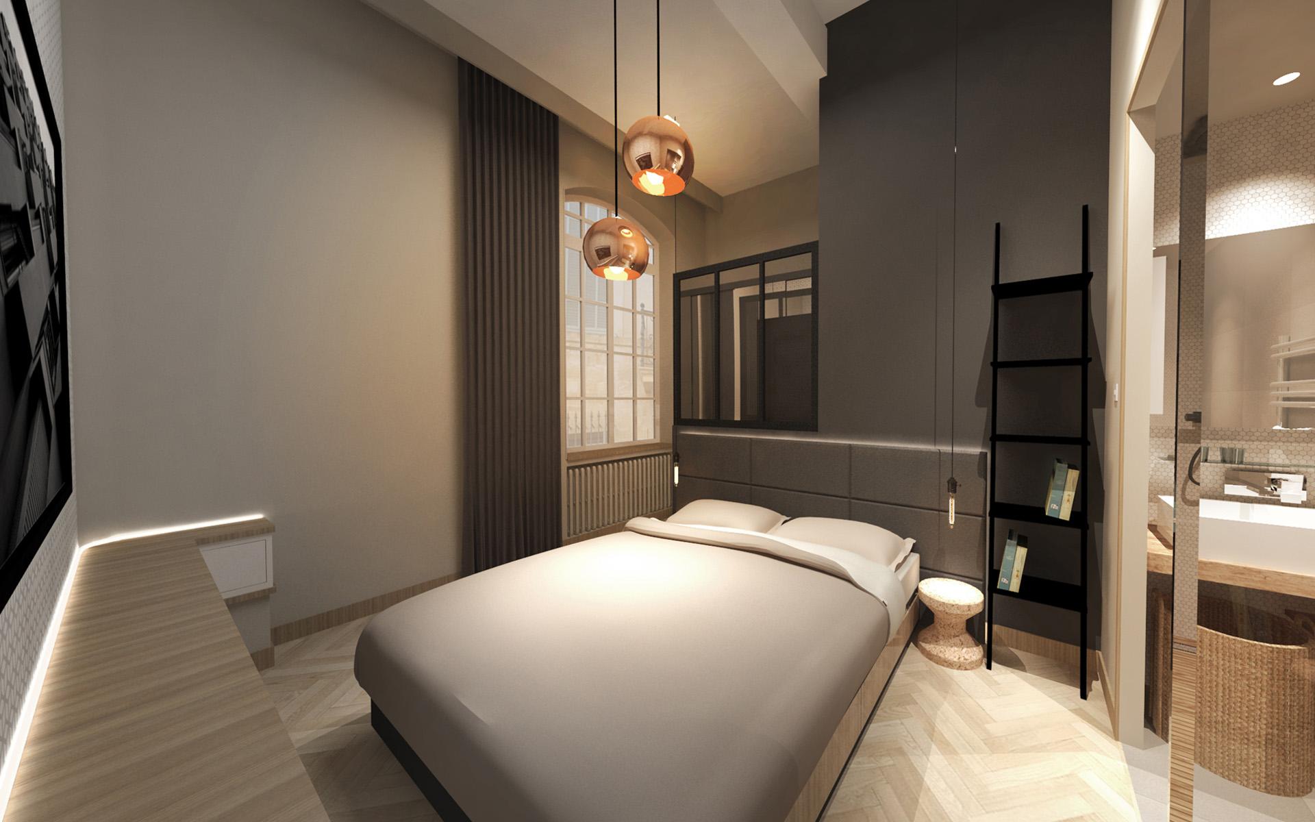 r novation quartier mazarin aix en provence red banana studio concepteur d 39 int rieur. Black Bedroom Furniture Sets. Home Design Ideas