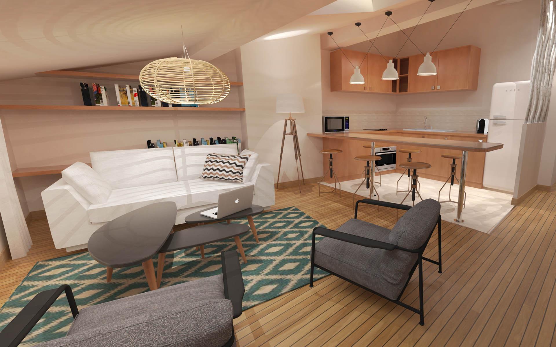 Architecture Intérieure - Red Banana - Architecte dintérieur Aix