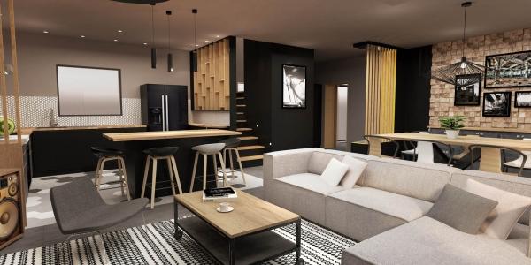 Aménagement d'une villa contemporaine – Puyricard