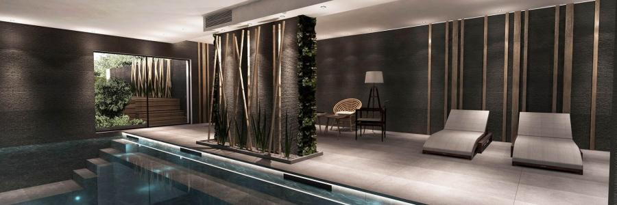 Transformation d'une villa provençale en bureau contemporain – Puyricard