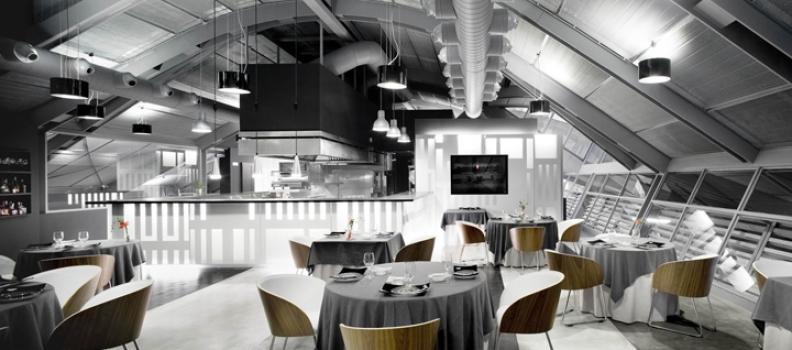 Intérieur du Jour – Restaurant Lluçanès à Barcelone