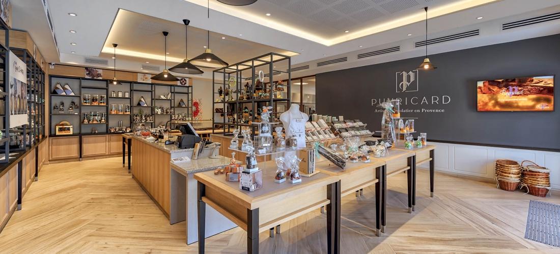 Atelier / boutique de chocolat – Puyricard