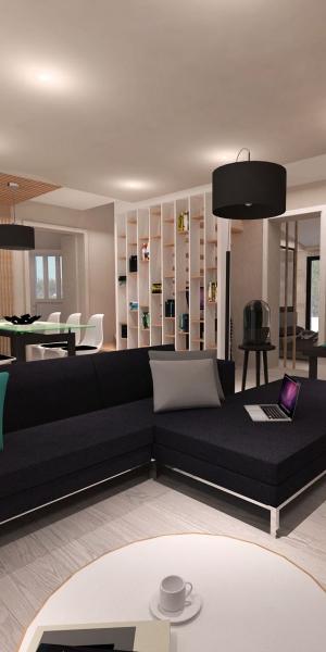 Aménagement d'une villa contemporaine – Aix en provence