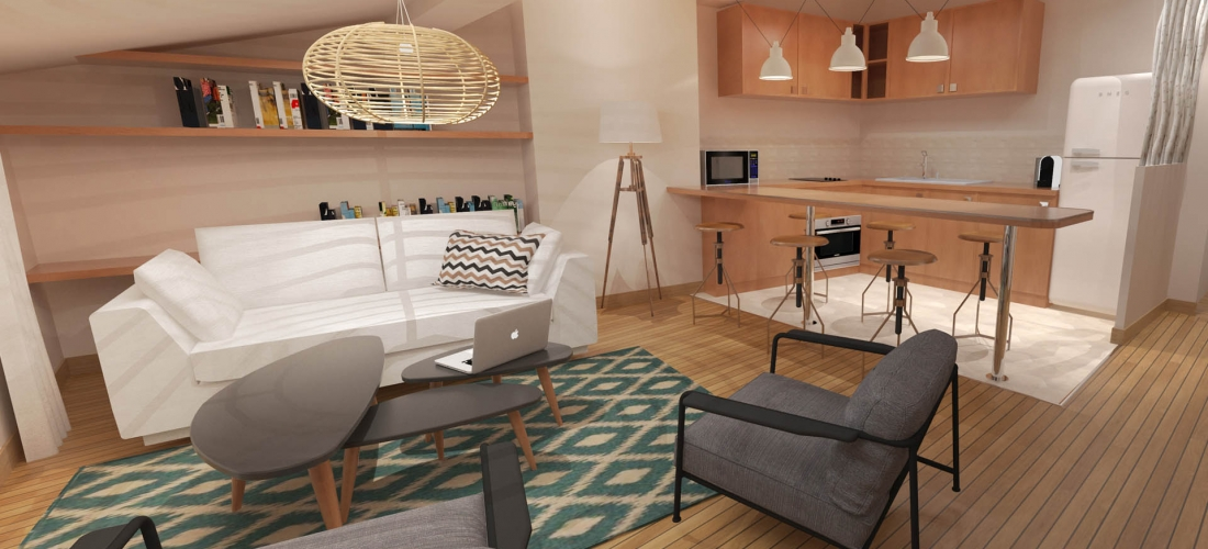 Rénovation Appartements – Saint-Tropez