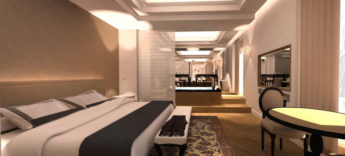 Hôtel 5 étoiles – Aix en Provence