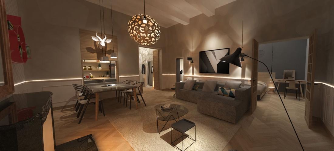 Rénovation quartier mazarin – Aix en provence
