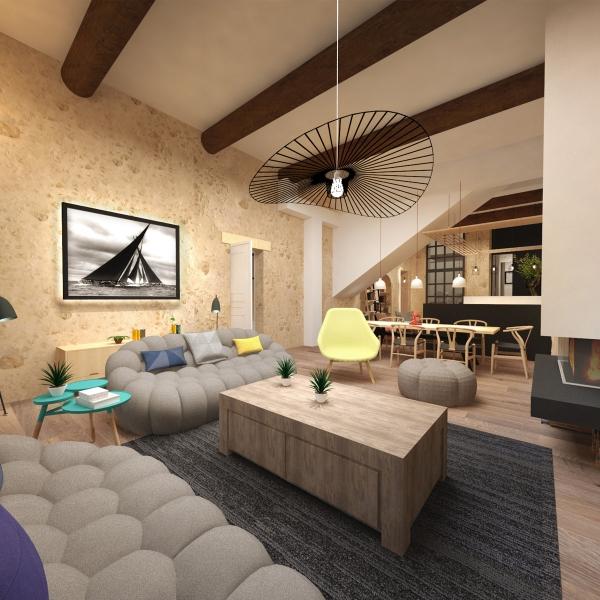 Rénovation d'un triplex – Aix en provence
